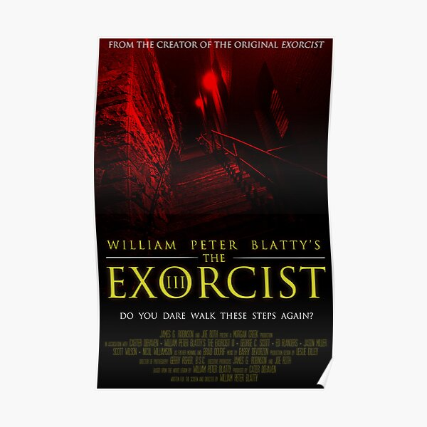 The Exorcist III (Poster 2 Red) Poster