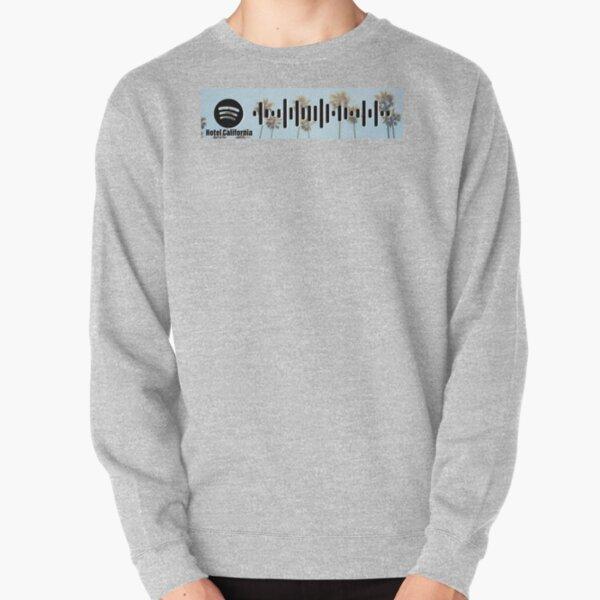 Hotel California - The Eagles - spotify code 3 Pullover Sweatshirt