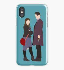 Doctor, Clara iPhone Case/Skin