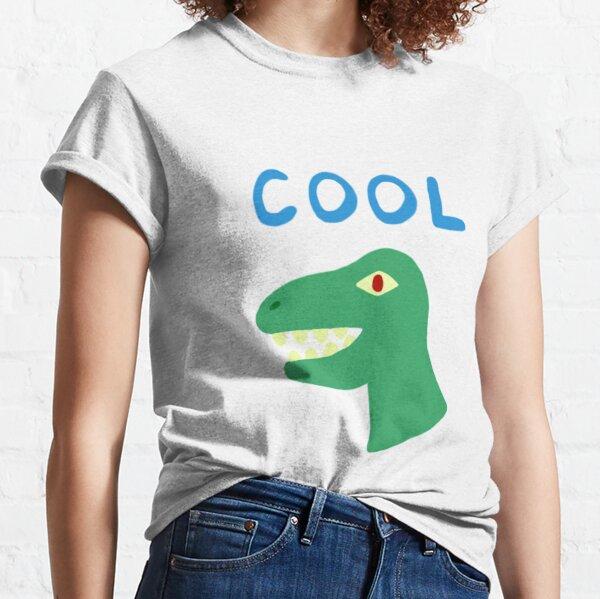 kevin vincent adultman cool dinosaur camisa Camiseta clásica