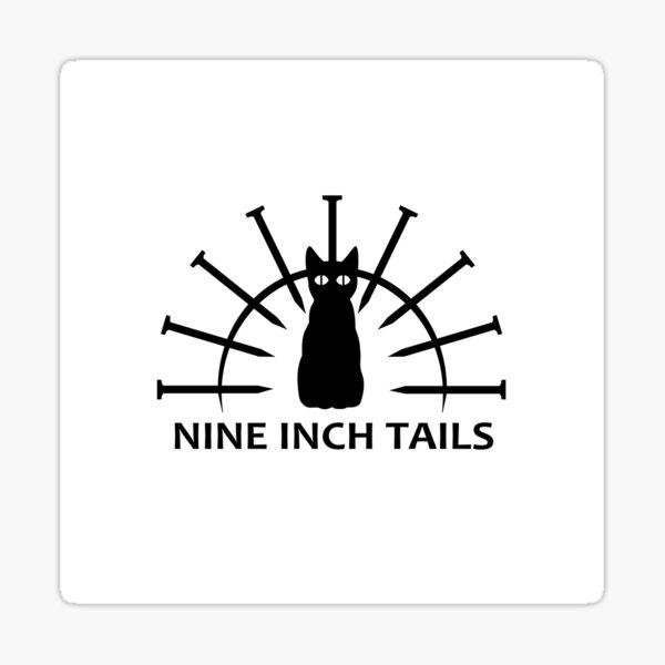 Nine Inch Tails Logo Sticker
