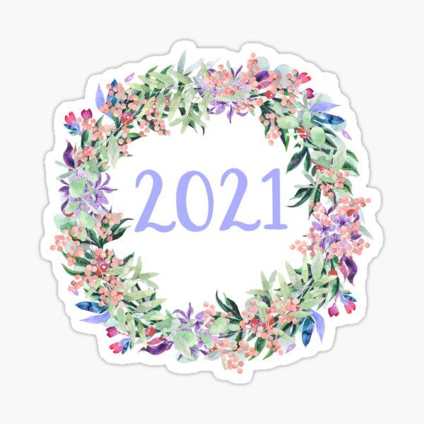 Year 2021 Sticker
