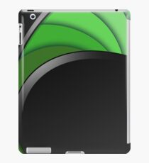Green Twirl iPad Case/Skin