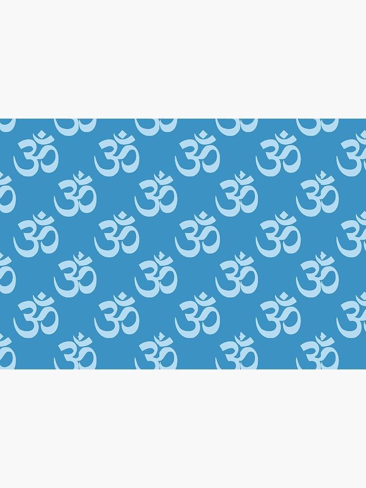 Om Symbol pattern by Rightbrainwoman