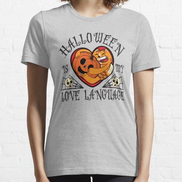 Halloween is My Love Language - Pumpkin Essential T-Shirt