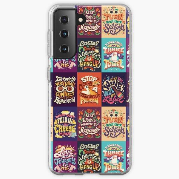 SC Collage Samsung Galaxy Soft Case