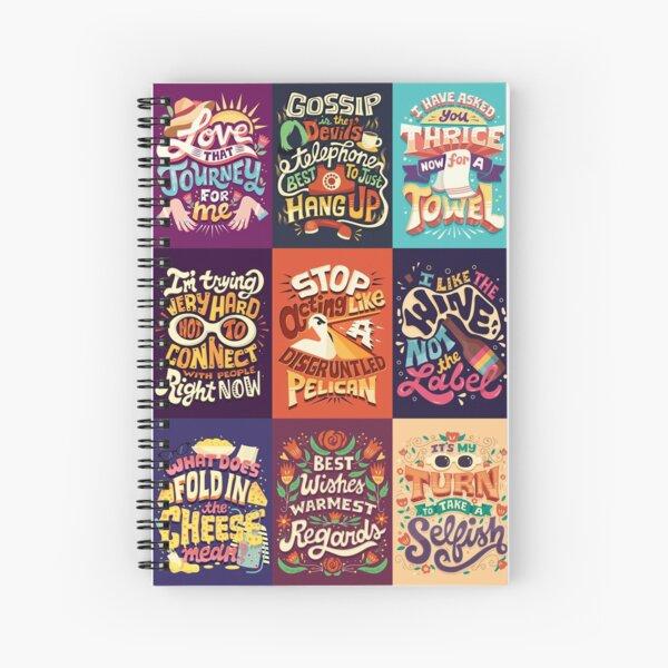 SC Collage Spiral Notebook