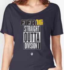 FIFA 16 - Division1 - EA Sports Women's Relaxed Fit T-Shirt