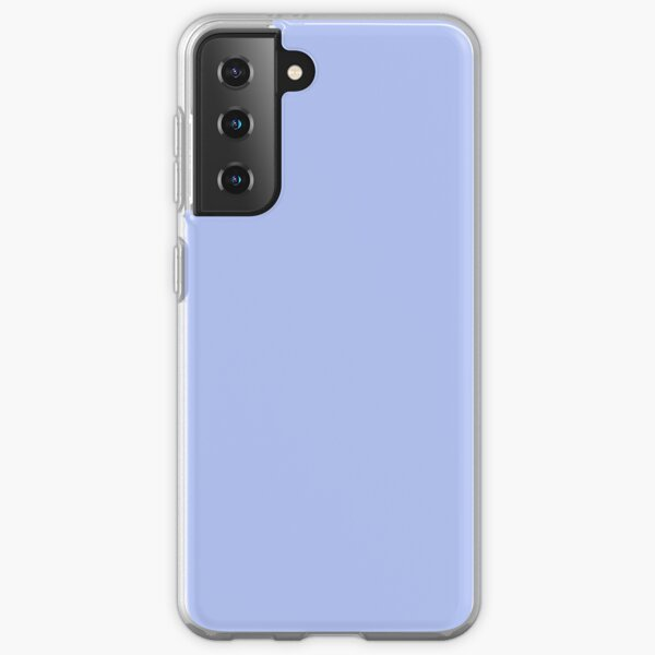 Solid Periwinkle Blue Samsung Galaxy Soft Case
