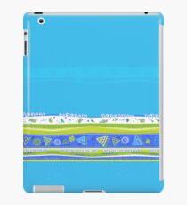 Simple Blue Design iPad Case/Skin