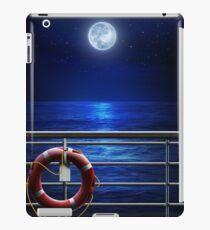 Night Moon Cruise iPad Case/Skin