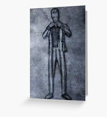 Thicke Carbonite Greeting Card