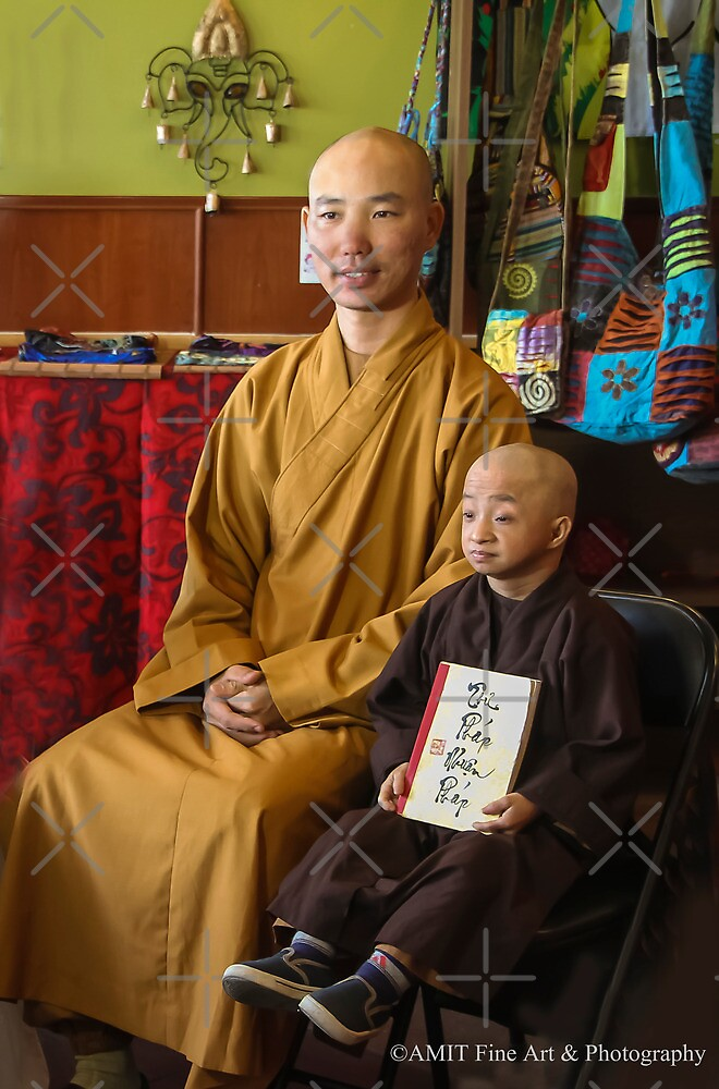 Guiness Record Vietnamese Monks by Heather Friedman