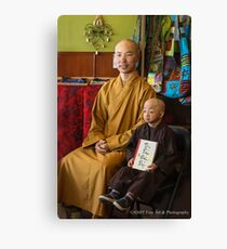 Guiness Record Vietnamese Monks Canvas Print