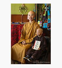 Guiness Record Vietnamese Monks Photographic Print