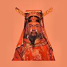 Buddhist Guardian by Geoffrey Higges