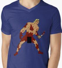 Move Like an Animal to Feel the Kill Mens V-Neck T-Shirt