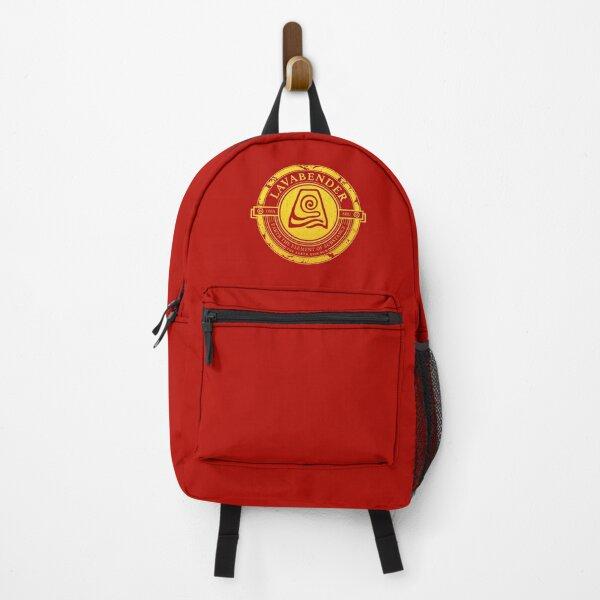 Lavabender Symbol: Avatar The Last Airbender-Inspired Design v2 Backpack