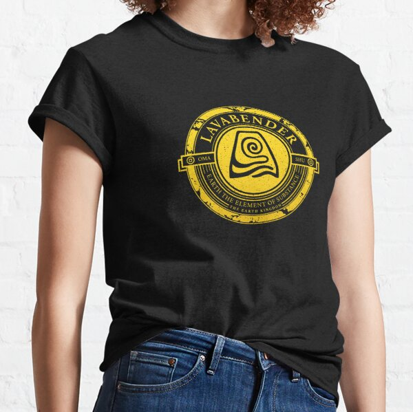 ATLA Lavabender Symbol: Avatar The Last Airbender-Inspired Design Classic T-Shirt