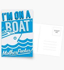I'm On A Boat! Postcards