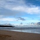 Blue Skies at Harlyn Bay, Cornwall by Samantha Higgs