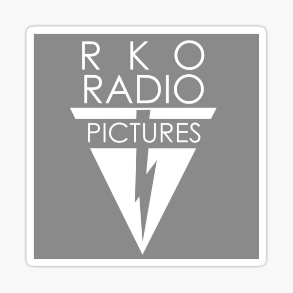 RKO Radio Pictures Sticker