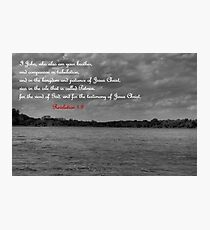 For the Testimony of Jesus Christ Photographic Print