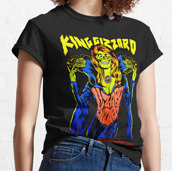 King Gizzard And The Lizard Wizard, Paradiso Amsterdam Maart 2019 Classic T-Shirt