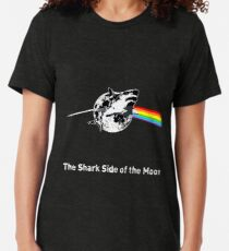 The Shark Side of the Moon Vintage T-Shirt