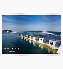Merewether Baths - Beachcomber Series Poster