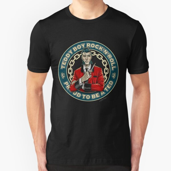 Teddy Boy Rock'n'roll Camiseta ajustada