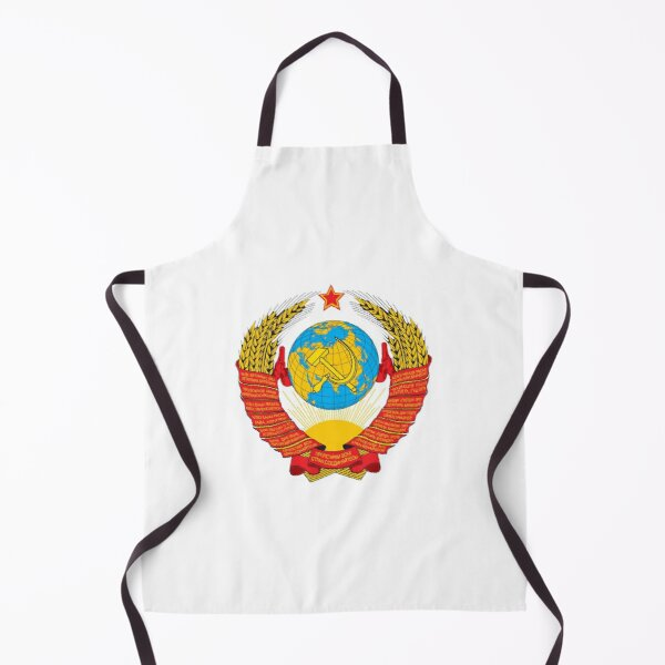 Герб СССР - The USSR coat of arms Apron