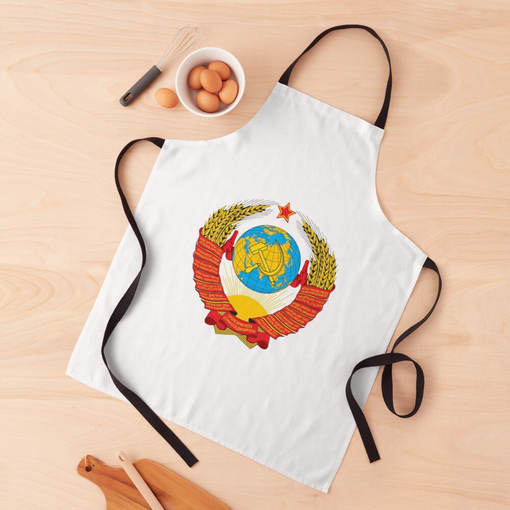 Герб СССР - The USSR coat of arms Apron