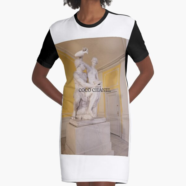 COCO CHANEL Graphic T-Shirt Dress