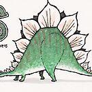 Stegosaurus by dotmund