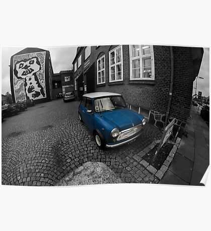British Leyland Mini Poster