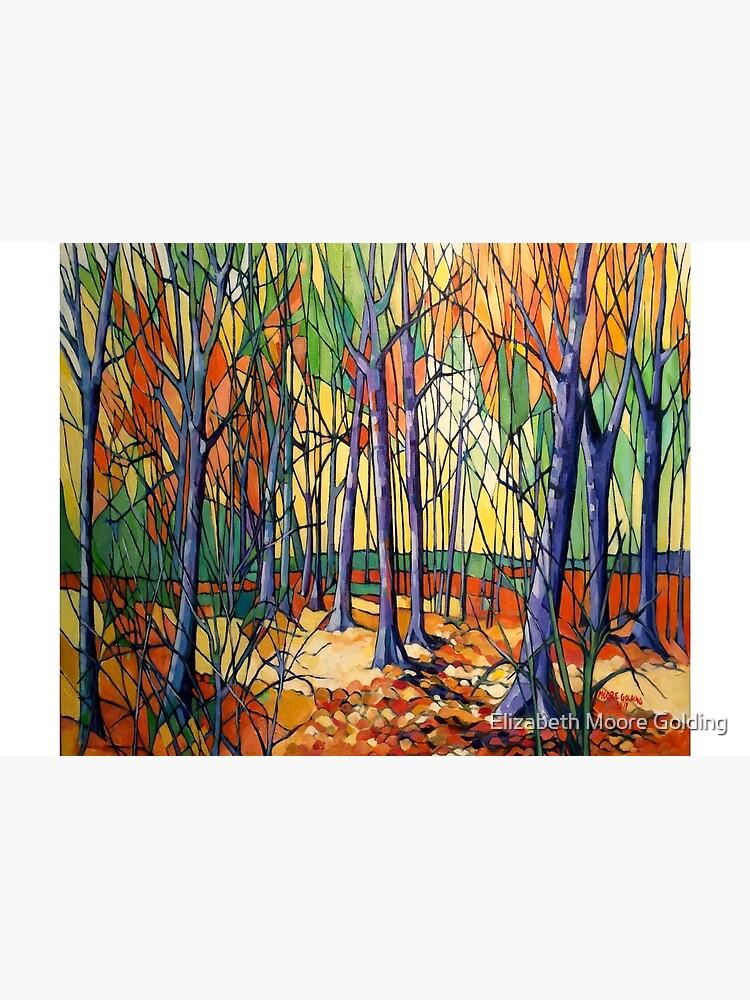 'Autumn Tiergarten, Berlin' oil on canvas. by emgolding