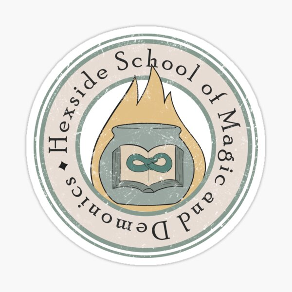 Hexside School of Magic and Demonics Sticker
