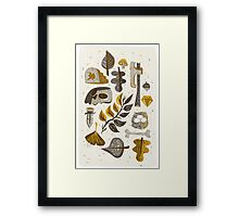 Findings from the Forrest Framed Print