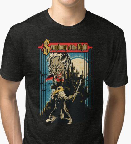 Symphony of the Night Tri-blend T-Shirt