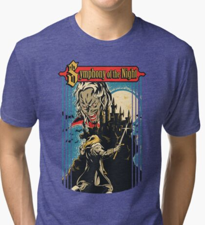 Symphony of the Night Tri-blend T-Shirt