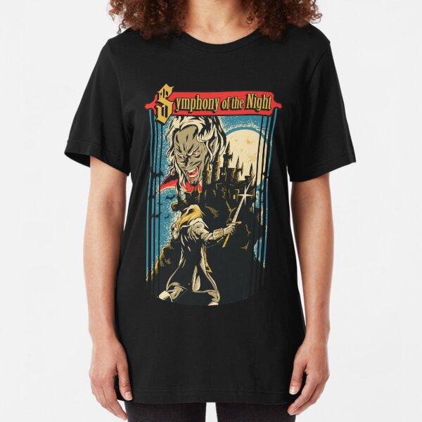 Symphony of the Night Slim Fit T-Shirt
