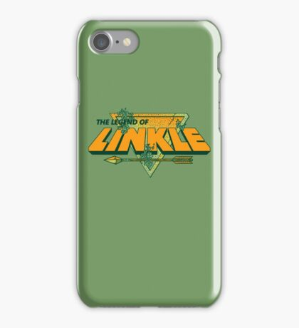 LEGEND OF LINKLE iPhone Case/Skin