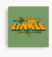 LEGEND OF LINKLE Canvas Print