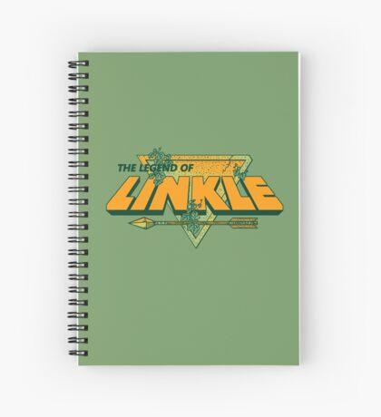 LEGEND OF LINKLE Spiral Notebook