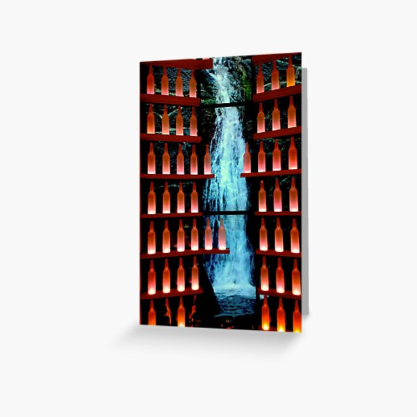 Whiskey and water Greeting Card