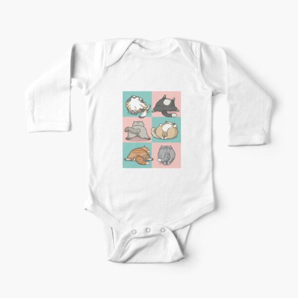 Backside Galore Long Sleeve Baby One-Piece