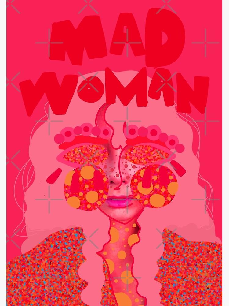 Mad Woman: Crayon Woman by TheMoodyMimo