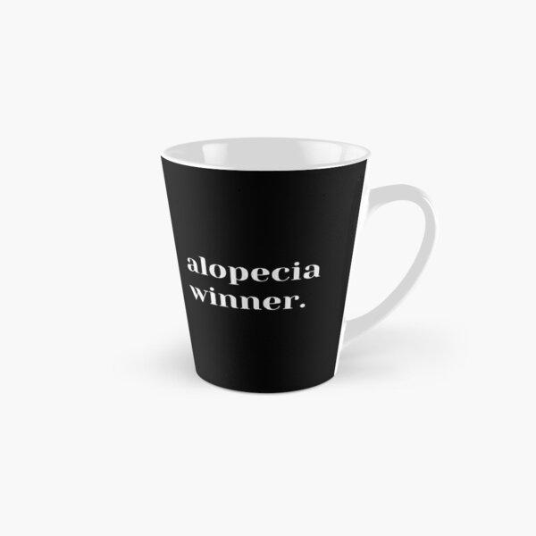 Alopecia Winner (Dark) - Alopecia Awareness and Hair Loss Support Tall Mug