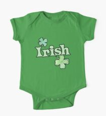 Irish Shamrocks One Piece - Short Sleeve